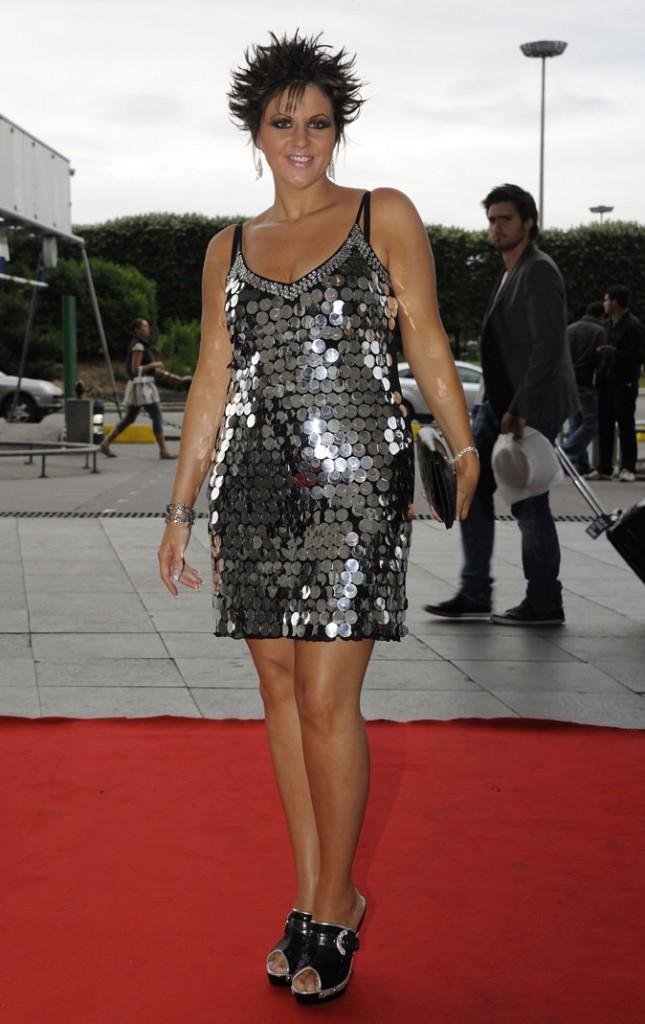 La robe à sequins de Cindy Sander !
