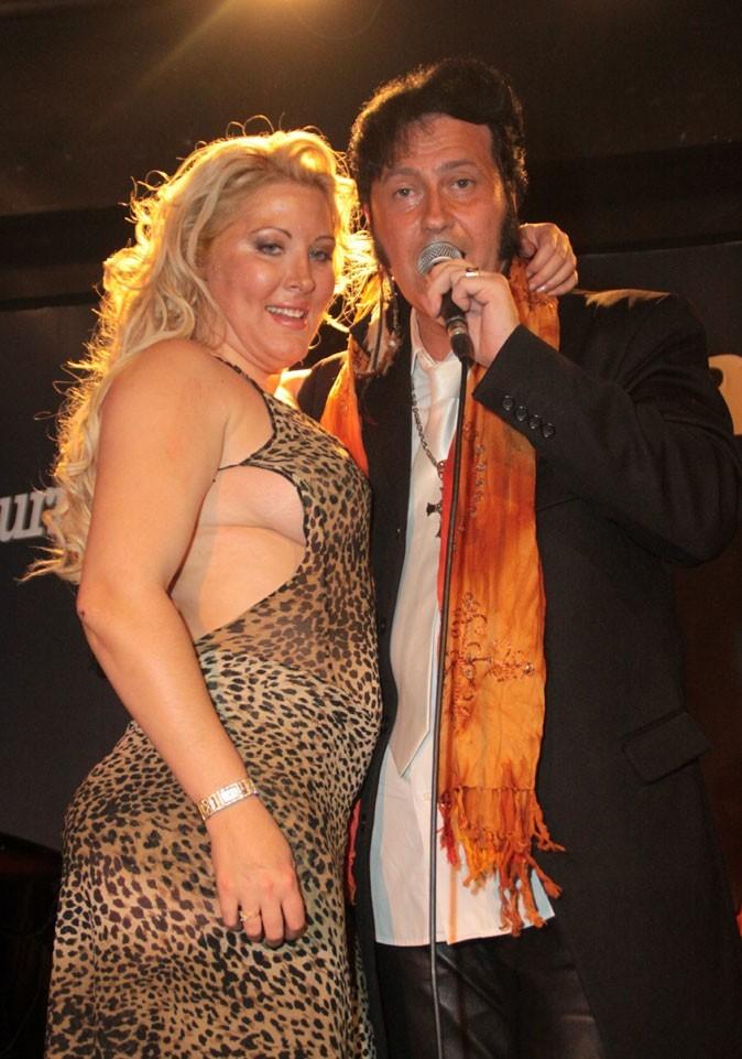 La robe léopard de Loana !