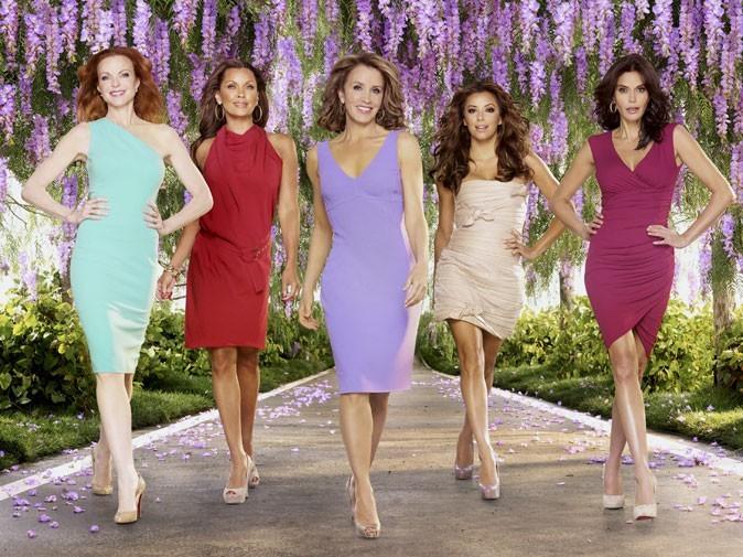 Mini-robes colorées et talons hauts pour les Desperate Housewives !