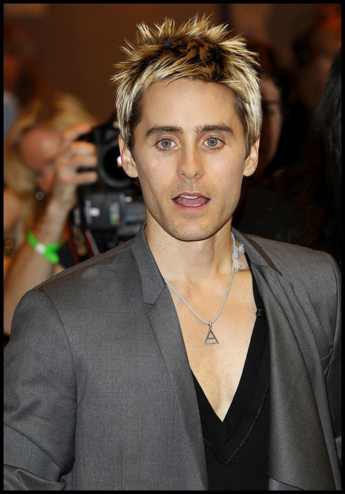 Jared Leto : blonde attitude !