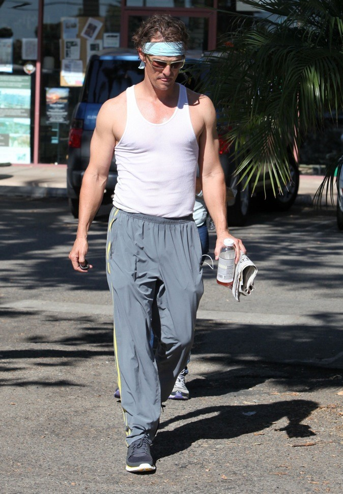 Matthew McConaughey : ancien bimboy...