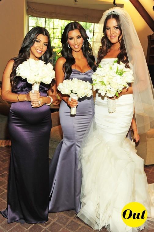 La robe de mariée de Khloe Kardashian