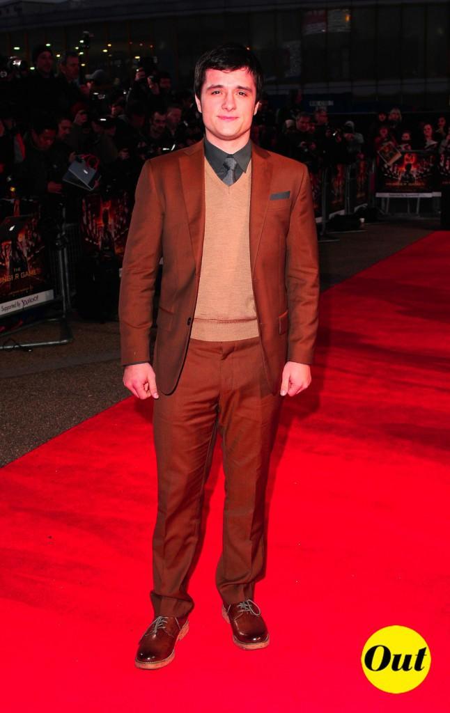 Retour sur le CV fashion de Josh Hutcherson (Hunger Games) !
