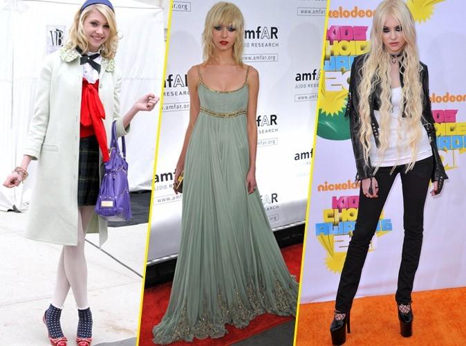 Looks de star : Taylor Momsen n'a pas toujours été aussi trash !