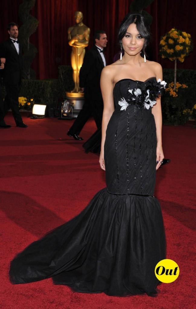 Le look glam' de Vanessa Hudgens en Février 2009 !