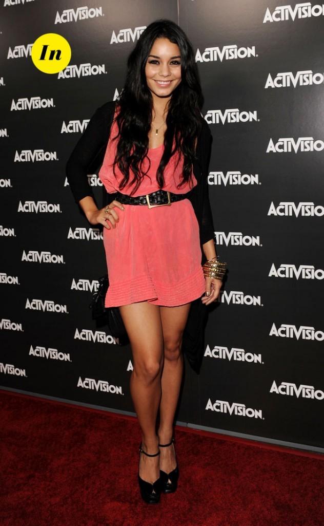 Le look glam' de Vanessa Hudgens en Juin 2010 !