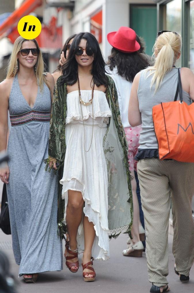 Le look hippie chic de Vanessa Hudgens en Mai 2011 !