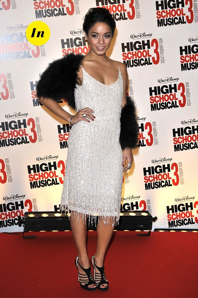 Le look rétro de Vanessa Hudgens en Septembre 2008 !