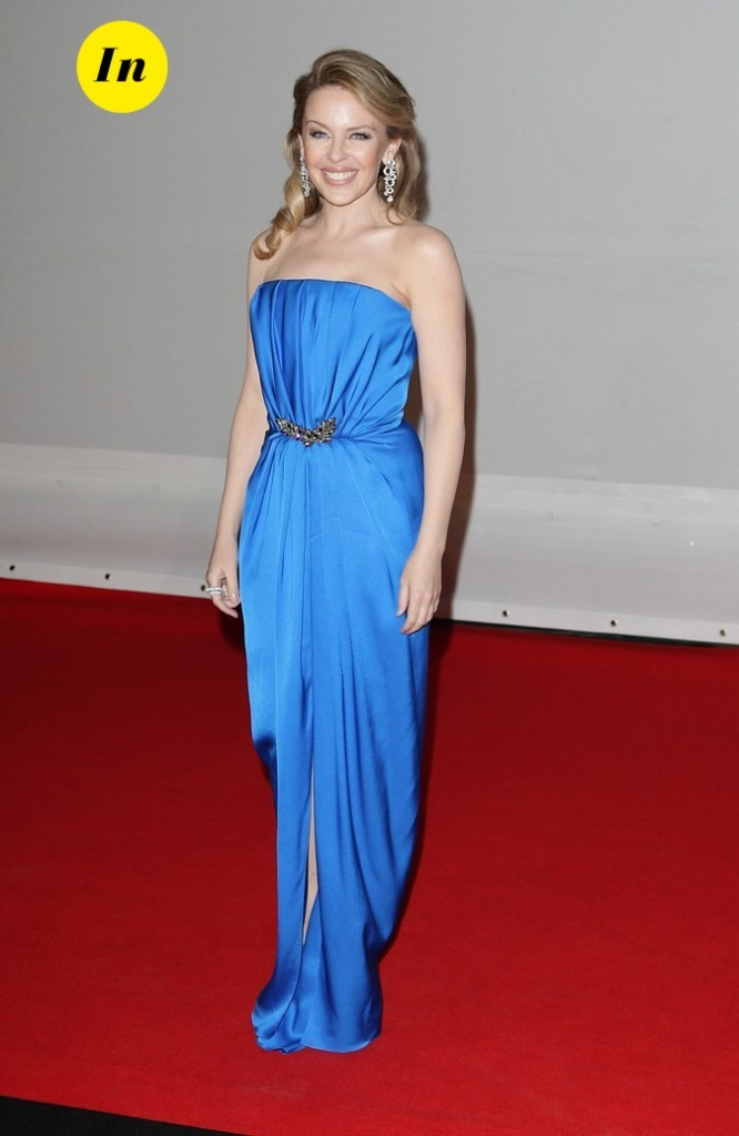 Kylie Minogue en Yves Saint Laurent