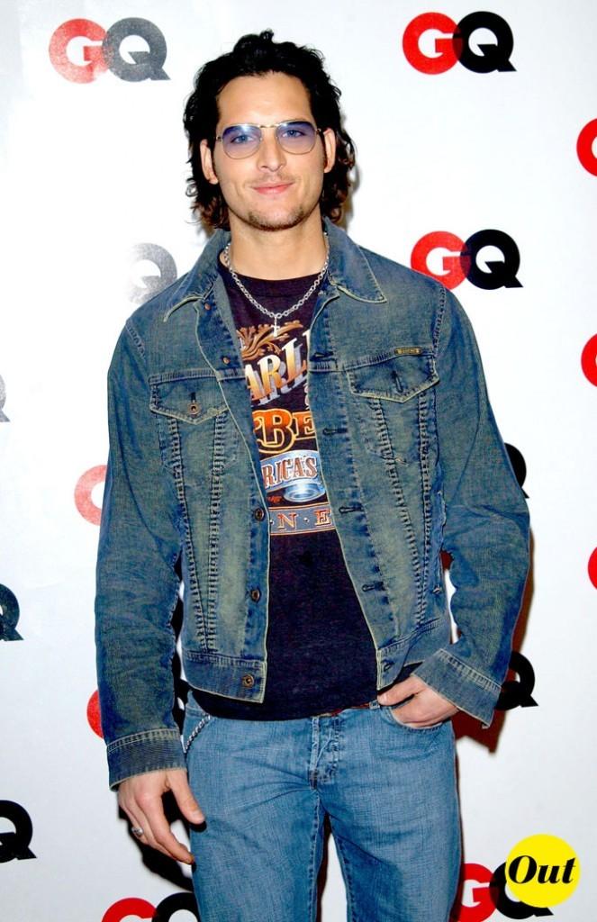 Peter Facinelli en 2003 avec sa veste en jean