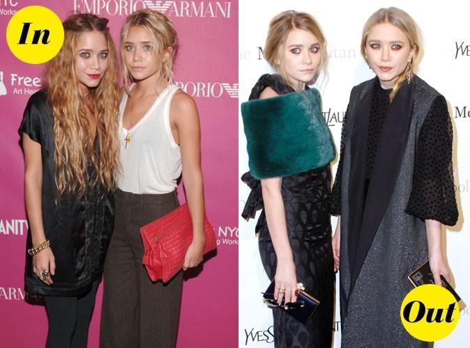 20 ans de looks de soeurs Olsen !