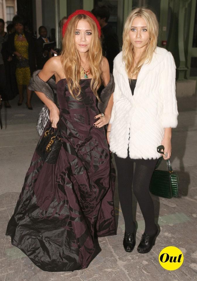 Froufrous et fourrure pour Mary-Kate et Ashley en Octobre 2006 !