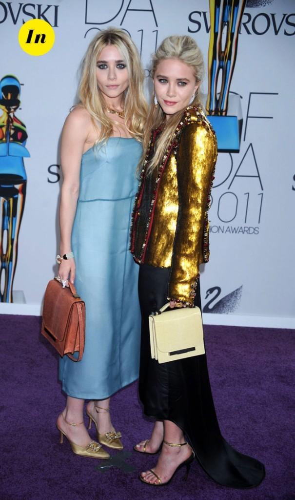 Les looks arty de Mary-Kate et Ashley Olsen en Juin 2011 !