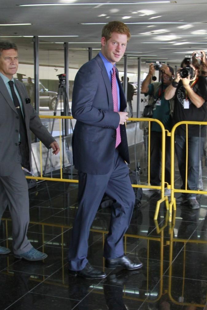 Le Prince Harry à Rio de Janeiro !