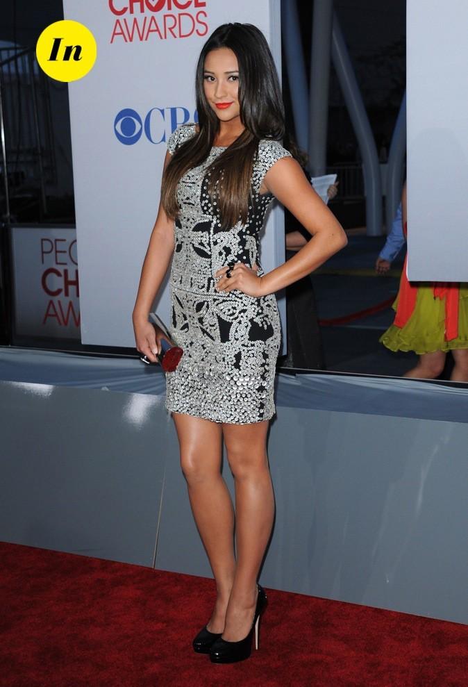 Shay Mitchell (Pretty Little Liar) est radieuse dans cette robe signée Naeem Khan