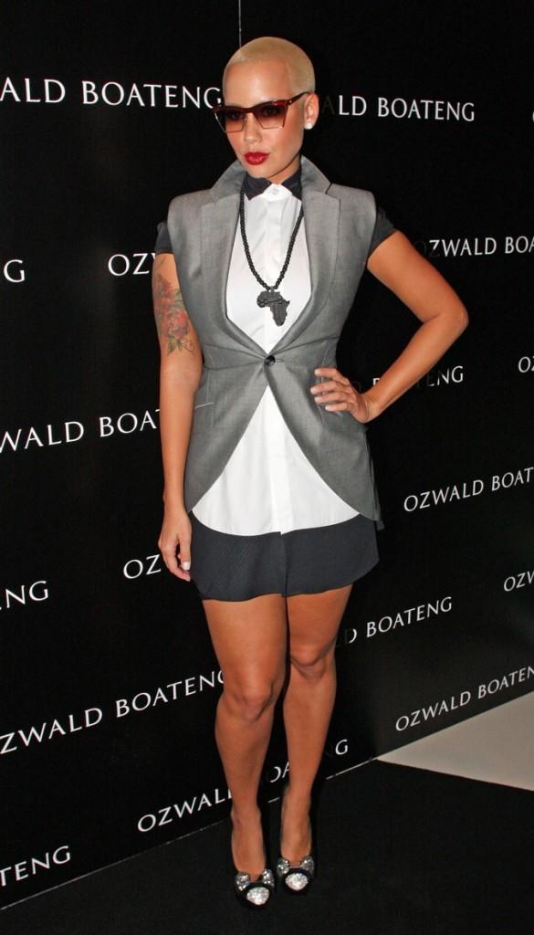 2010: Au Ozwald Boateng Show à Londres