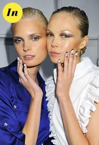 Manucure tendance hiver 2011 : la french bicolore