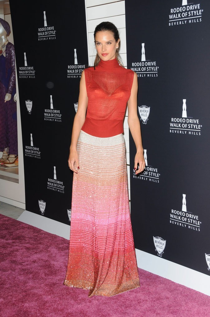 Le fashion faux pas d'Alessandra Ambrosio ?