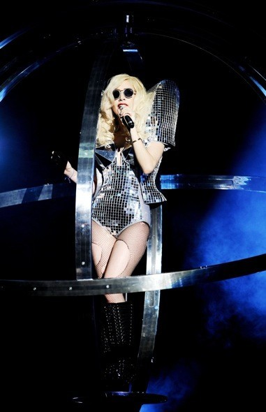 Lady Gaga pendant son Monster Ball Tour