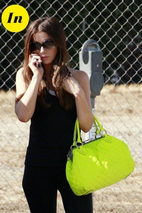 Kate Beckinsale et son sac Marc Jacobs