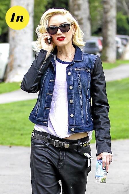 Les lunettes papillon de Gwen Stefani