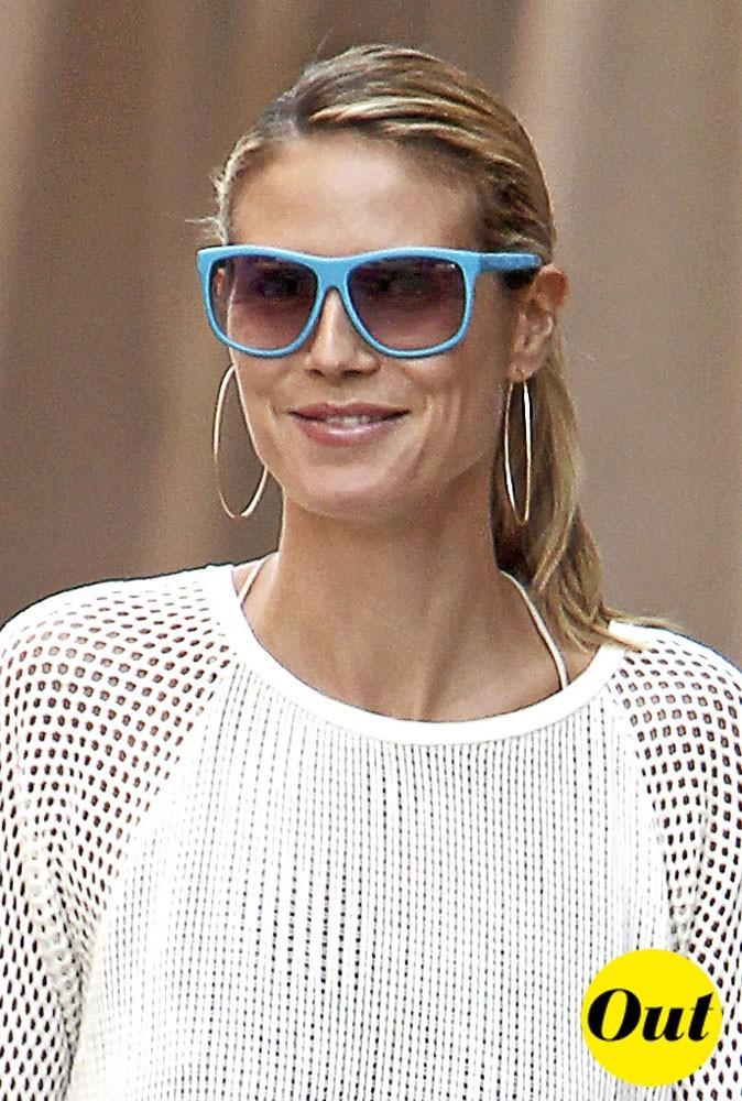 Les lunettes plastique fluo de Heidi Klum : Out !