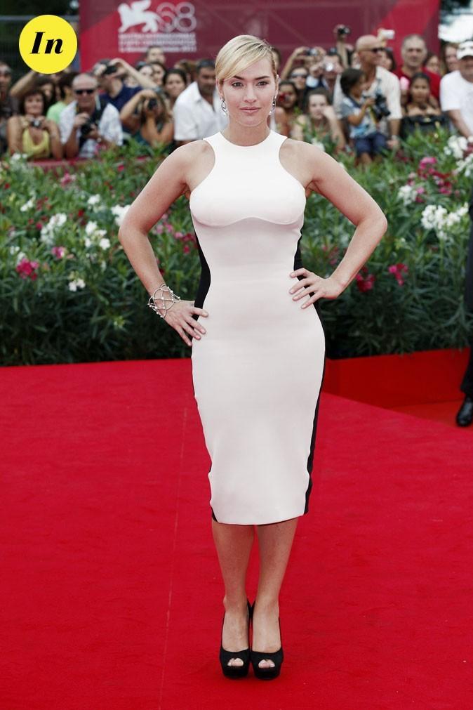 Mostra de Venise 2011 : la robe trompe l'oeil Stella McCartney de Kate Winslet