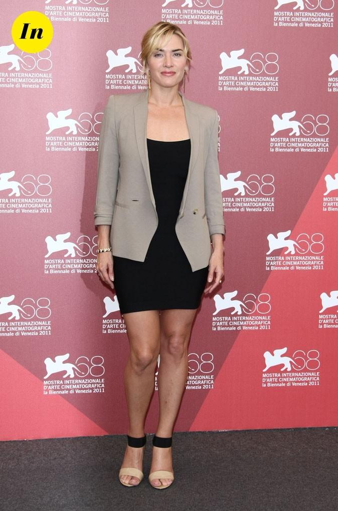 Mostra de Venise 2011 : la veste beige de Kate Winslet
