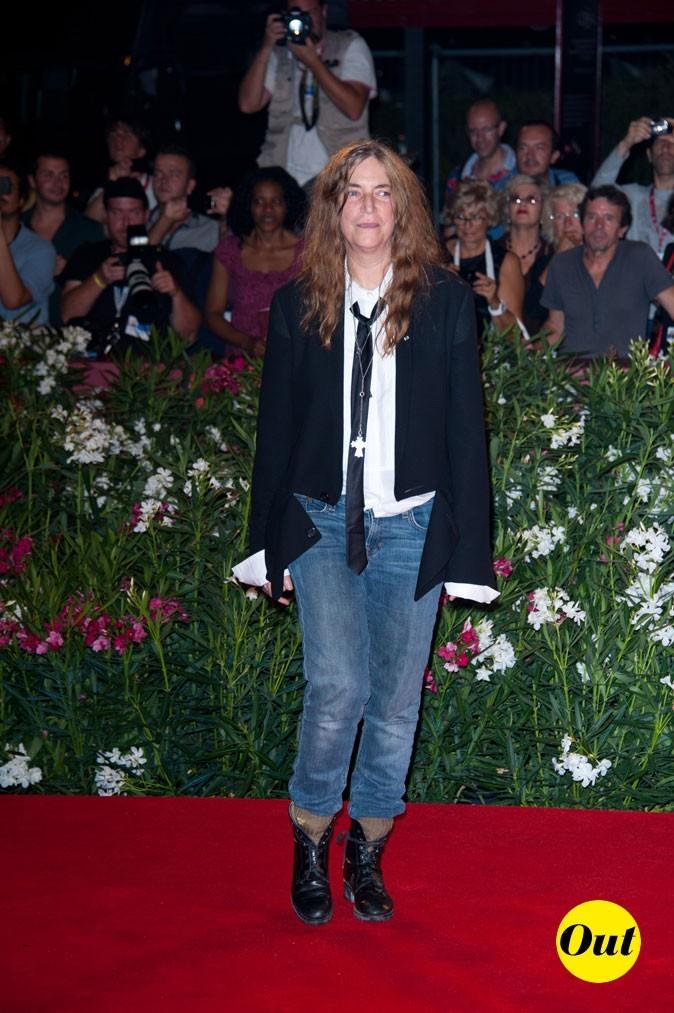 Mostra de Venise 2011 : le look masculin féminin de Patti Smith