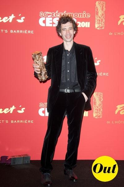 César 2011 : le costume d'Eric Elmosnino