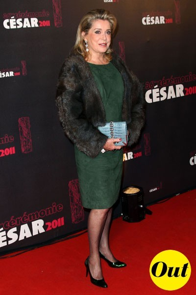 Photos : César 2011 : la robe Balenciaga de Catherine Deneuve
