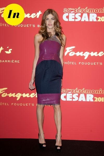 Photos : César 2011 : la robe Chanel d'Elisa Sednaoui