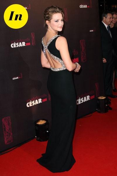 Photos : César 2011 : la robe longue dos nu de Virginie Efira
