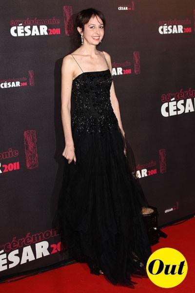 Photos : César 2011 : la robe longue noire de Valerie Bonneton