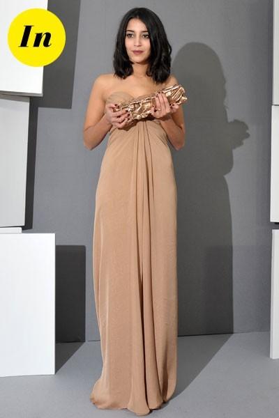 Photos : César 2011 : la robe Yves Saint Laurent de Leïla Bekhti