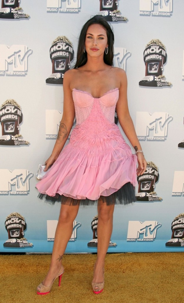 2008 : Megan Fox lors des MTV Movie Awards !