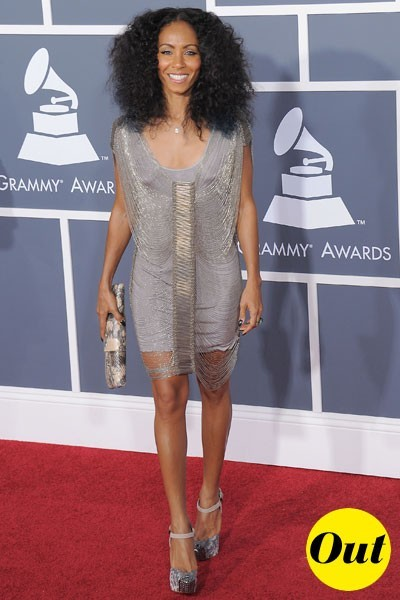 Photos : Grammy Awards 2011 : la robe de Jada Pinkett Smith