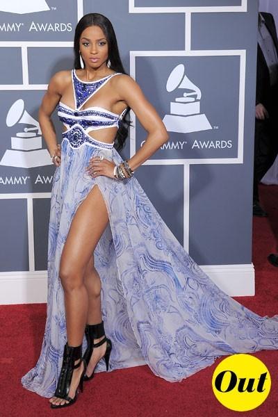 Photos : Grammy Awards 2011 : la robe Emilio Pucci de Ciara