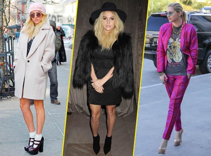 Photos : Kesha : Découvrez le CV Fashion rock et excentrique de la chanteuse !