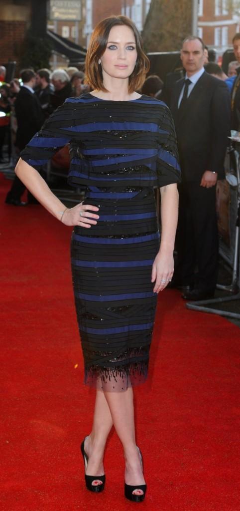 Emily Blunt est ravissante !