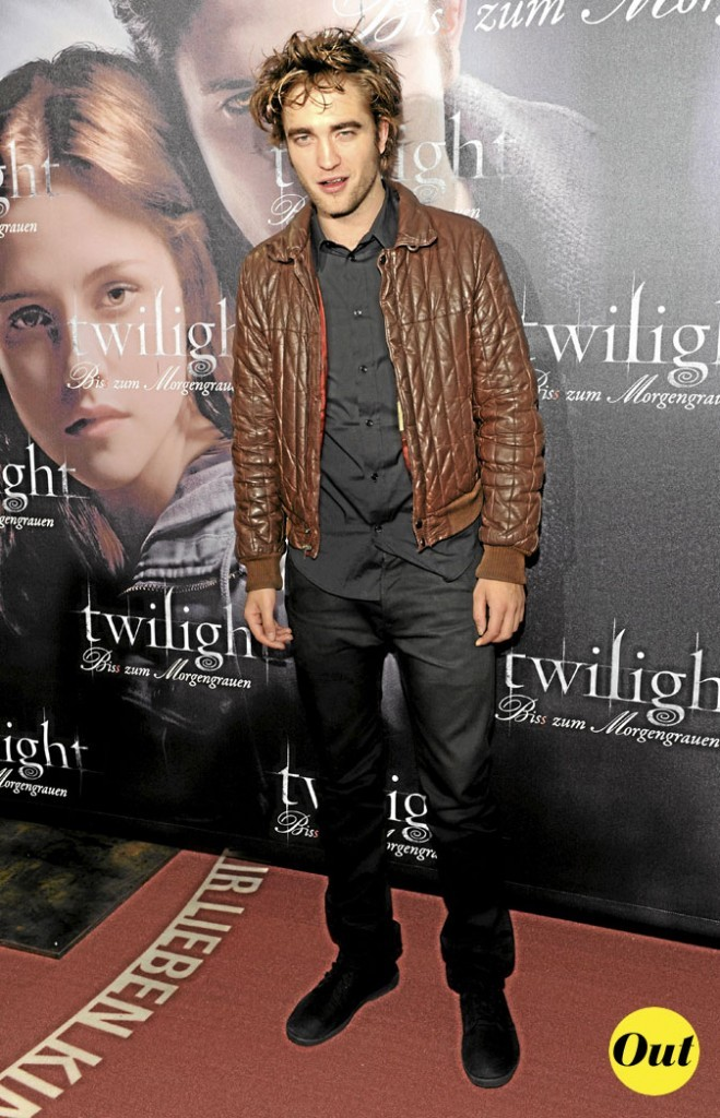 Le look veste matelassée de Robert Pattinson en 2008