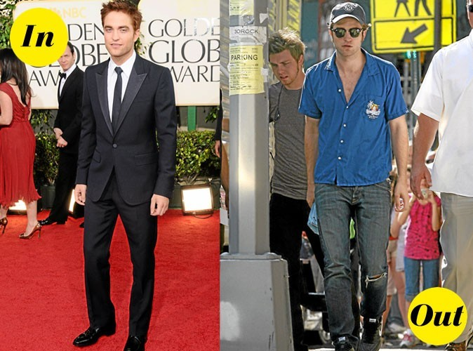 Photos : Les looks In&Out de Robert Pattinson