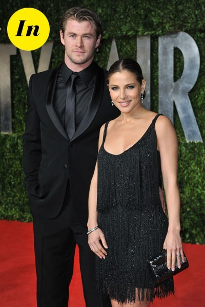 Look de stars aux Oscars 2011 : Elsa Pataky en couple avec Chris Hemsworth