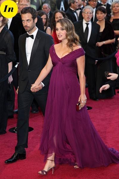 Look de stars aux Oscars 2011 : Natalie Portman en couple avec Benjamin Millepied