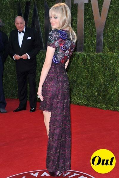 Oscars 2011 : la robe Chanel d'Emma Stone