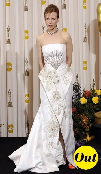 Oscars 2011 : la robe Dior de Nicole Kidman