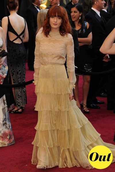 Oscars 2011 : la robe Valentino de Florence Welch