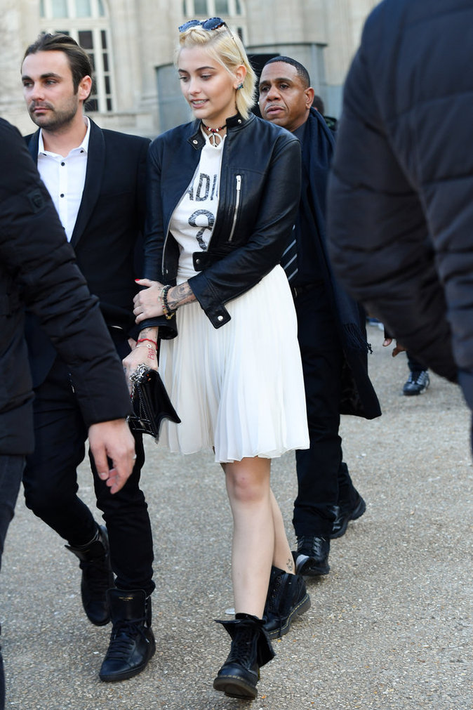 Photos : Paris Jackson : de l'anonymat aux tapis rouges... Découvrez le CV Fashion de la fille de Michael Jackson