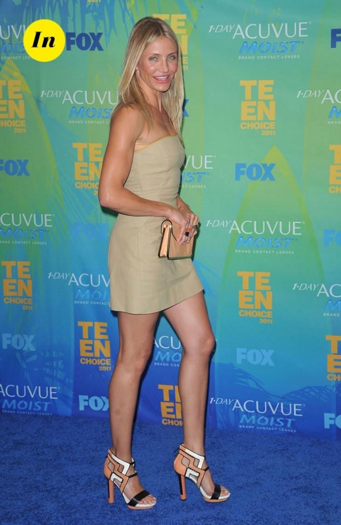 Le look de Cameron Diaz aux Teen Choice Awards 2011 !