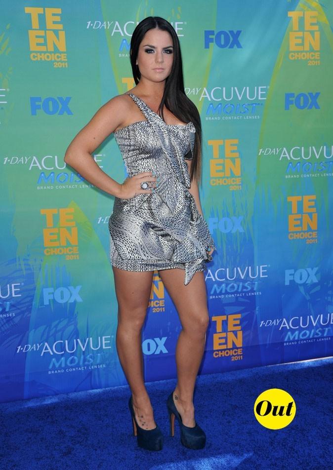 Le look de Jojo aux Teen Choice Awards 2011 !